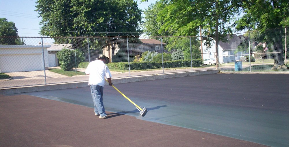 building a pickleball court surface
