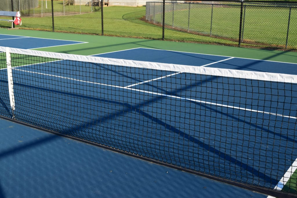 outdoor pickleball courts